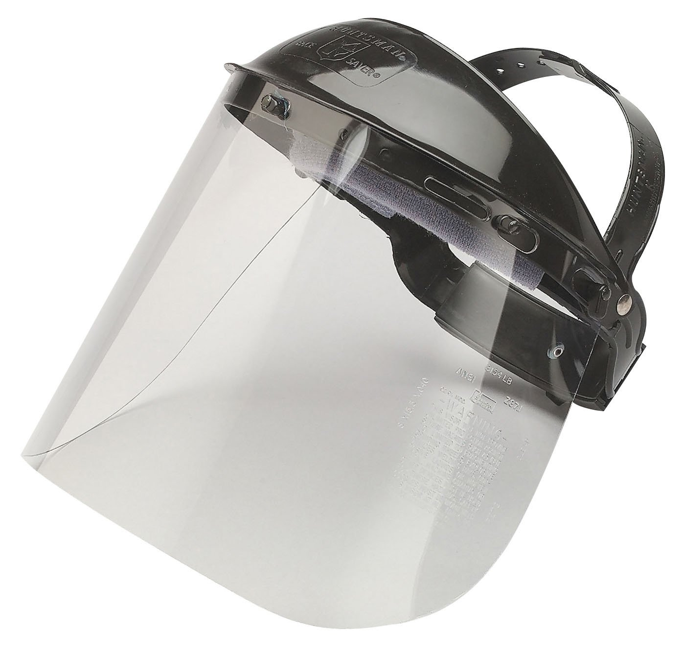Jackson Safety Model K Facesaver Headgear with Clear Visor (Pack of 12) by Jackson Safety (Image #1)
