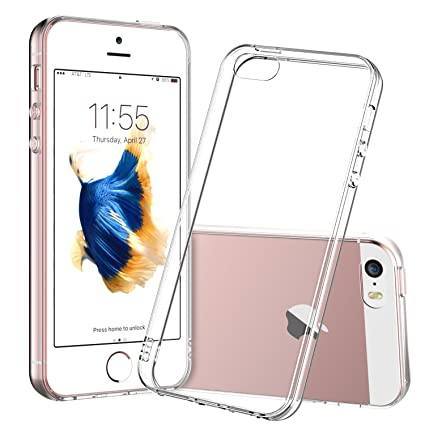 promo code c43f0 d21d0 For iPhone 5s Case, Shamo's Clear Apple iPhone SE 5S 5 Case [Shock  Absorption] Cover TPU Rubber Gel [Anti Scratch] Transparent Clear Back,  Soft ...