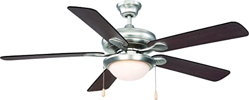 Savoy House 52-CDC-5RV-SN Sierra Madres Ceiling Fan 52″ W x 23″H
