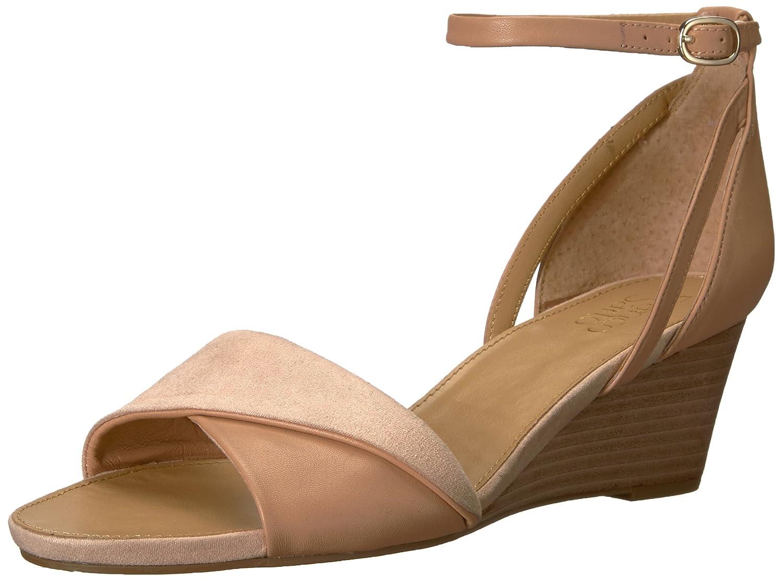 Franco Sarto Women's Deirdra Wedge Sandal B0771Q7VYC 10.5 B(M) US|Peach