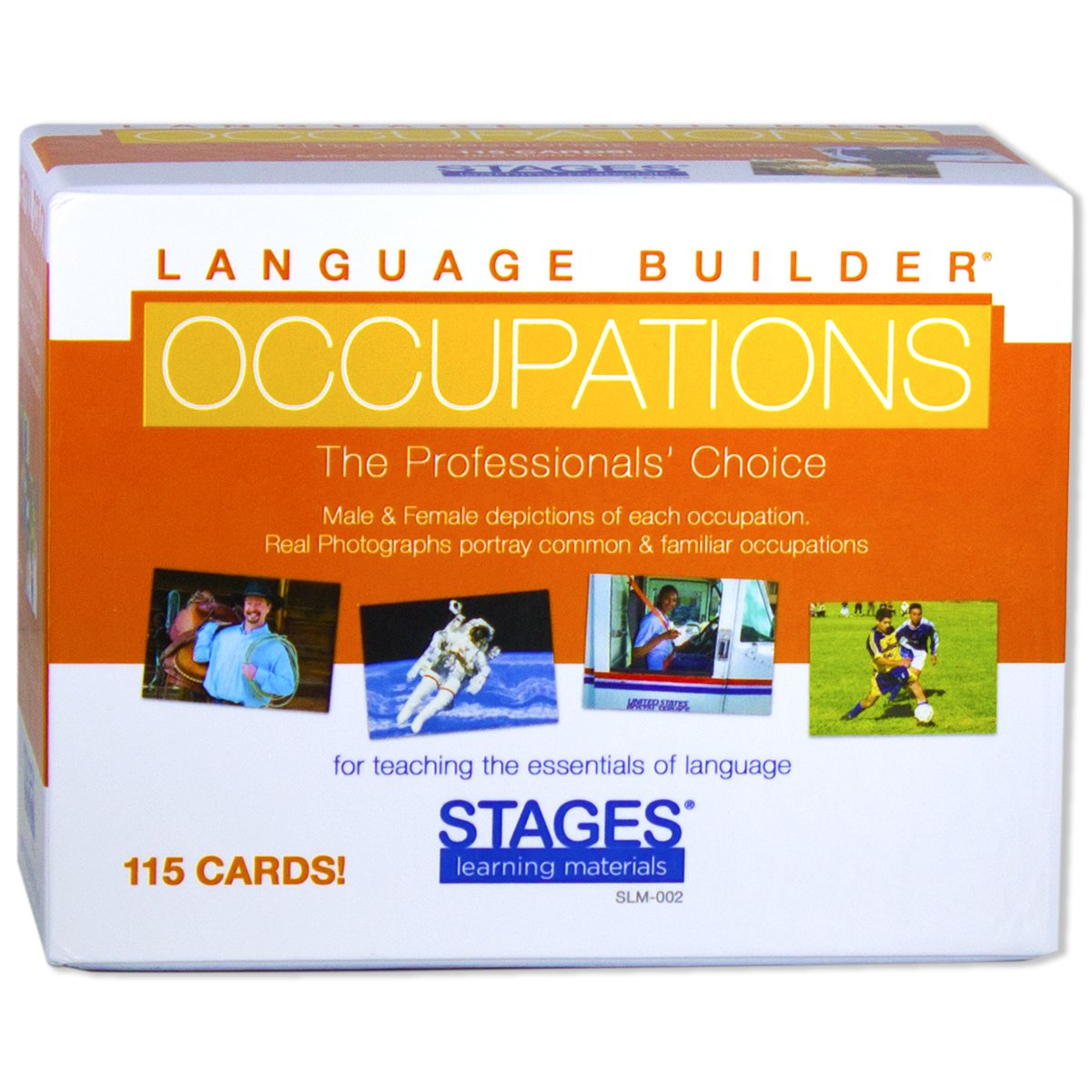 Stages Learning Language Builder: Occupation Cards