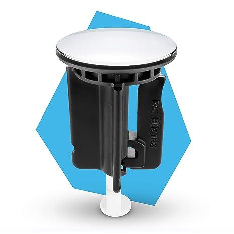 Waschbeckenstöpsel 40mm Chrom Stöpsel Abflussstopfen Abflussstöpsel Waschbecken