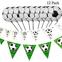 Newin Star Decoración de Fútbol con Globos