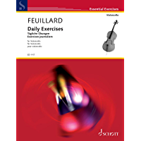 Daily Exercises: for Violoncello (Essential Exercises)