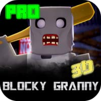 Blocky Granny Horror House 3D - Ads Free