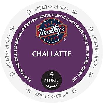 Timothy's World Chai Latte K-Cups