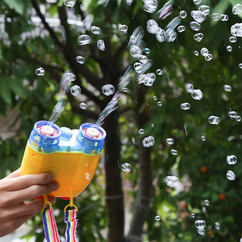 Creative Camera Design Electric Bubble Gun with Music Perfect Gift for Kids by RONSHIN (Image #3)