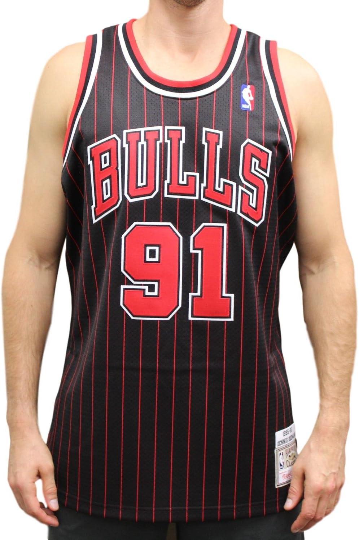 Dennis RodmanシカゴブルズMitchell & Ness Authentic 1995代替NBAジャージ