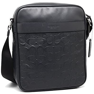Image Unavailable. Image not available for. Color  COACH CHARLES FLIGHT BAG  IN SIGNATURE CROSSGRAIN LEATHER F11741 ... 1f1f8a8890652