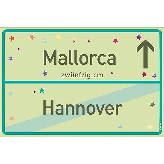 vanva Mallorca Cartel Mallorca Hannover Cartel Lime Green ...