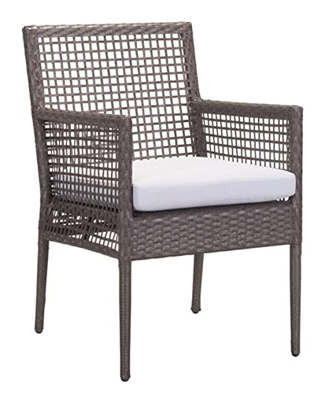 Zuo Modern Coronado Dining Chair (Set Of 2), Cocoa U0026 Light Gray