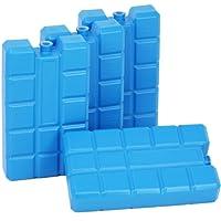 com-four Kühlakkus, je 200 ml, blau - für die Kühltasche