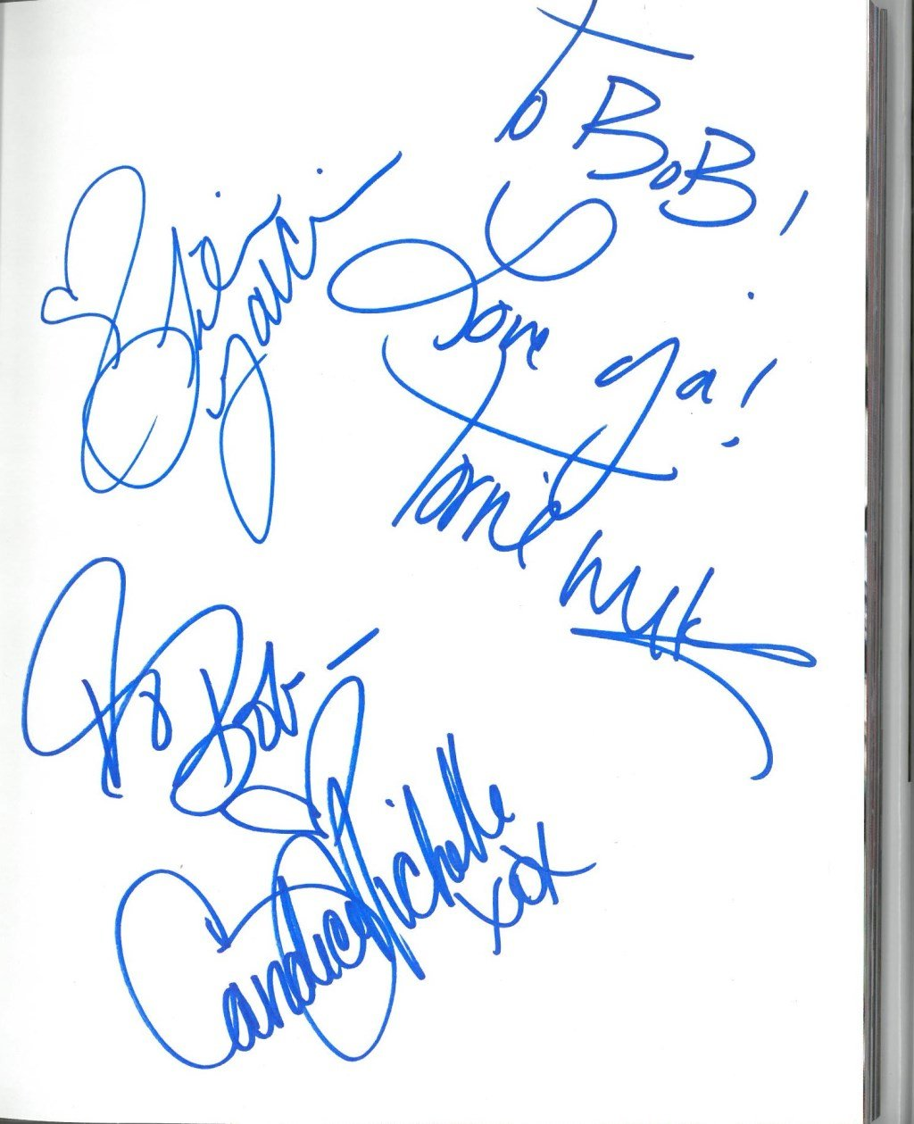 Torrie Wilson +2 Signed Divas Uncovered Authentic Autographed Book JSA #S89247