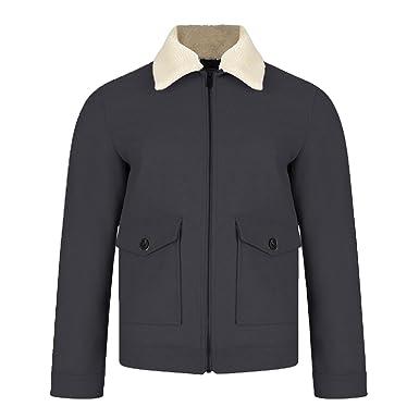 99a03b5a1ba57 Threadbare - Manteau - Chemise - Uni - Col Boutonné - Homme  Amazon.fr   Vêtements et accessoires