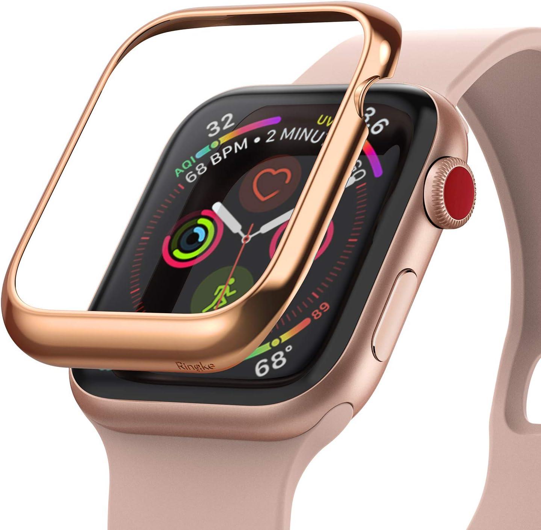 Ringke Bezel Styling Case Designed for Apple Watch 3, Apple Watch 2, Apple Watch 1 (38mm) Full Stainless Steel Frame Case - AW3-02