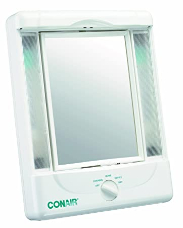 jerdon lighted makeup mirror amazon mirrors reviews 2013 two sided light settings magnification
