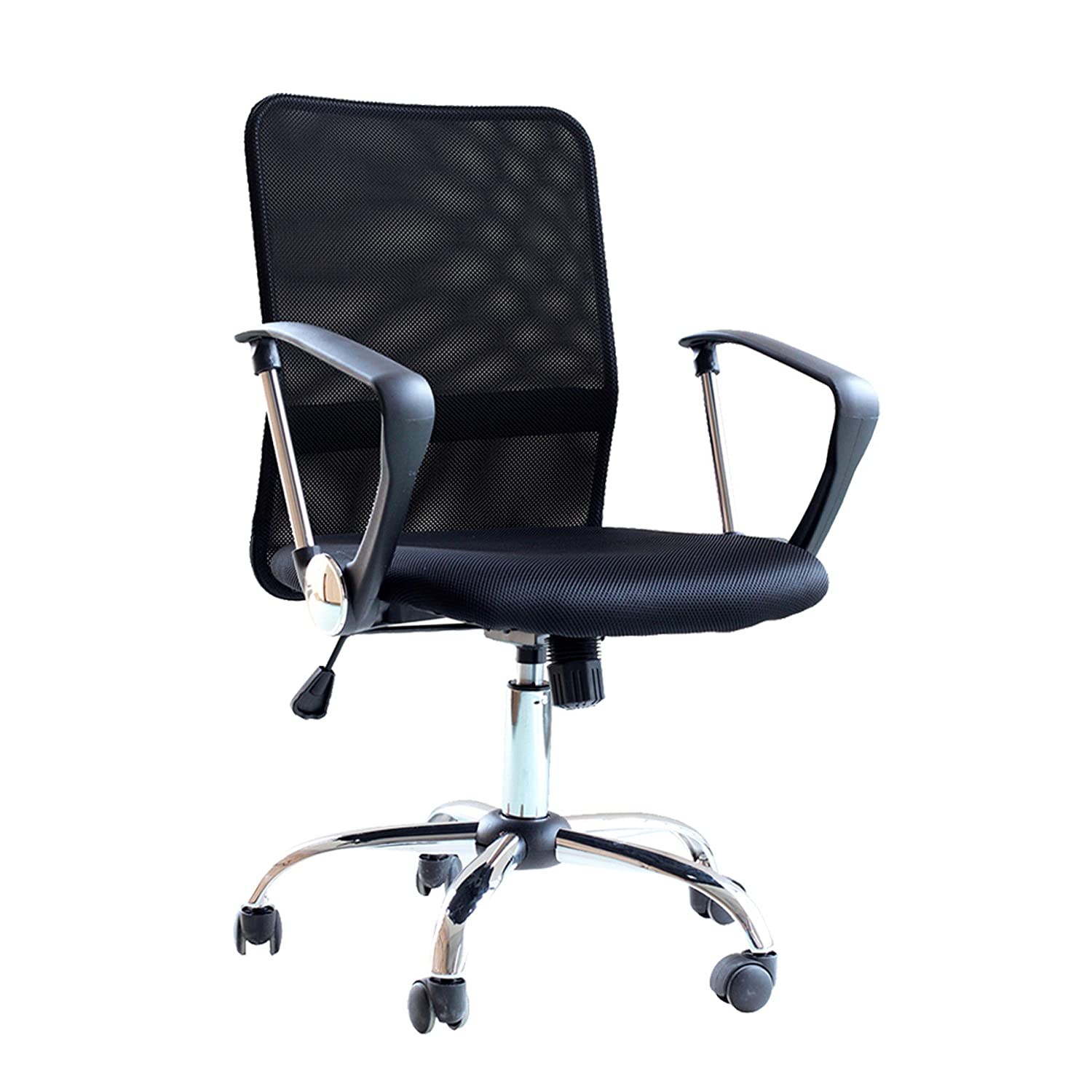 IDS Online IDS-18509 Ergonomic & Comfortable Home & Office Desk Swivel, Breathable & Durable Mesh Mid Back, Adjustable & Stylish Computer Chair
