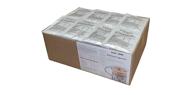 Bebida de capuchino proteina para deportisas y perder el peso caja de 100 unidades (viene