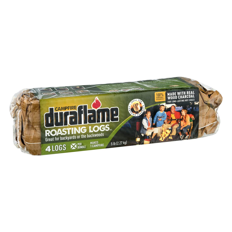 duraflame Campfire Roasting Logs, 4-ct bundle by Duraflame