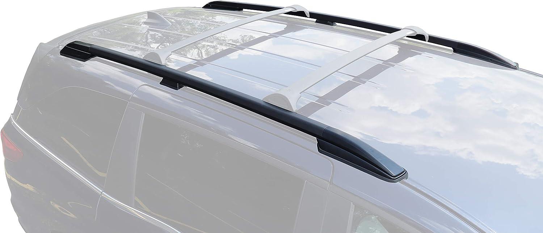 Amazon Com Brightlines Crossbars Roof Side Rails Compatible With 2018 2020 Honda Odyssey Automotive