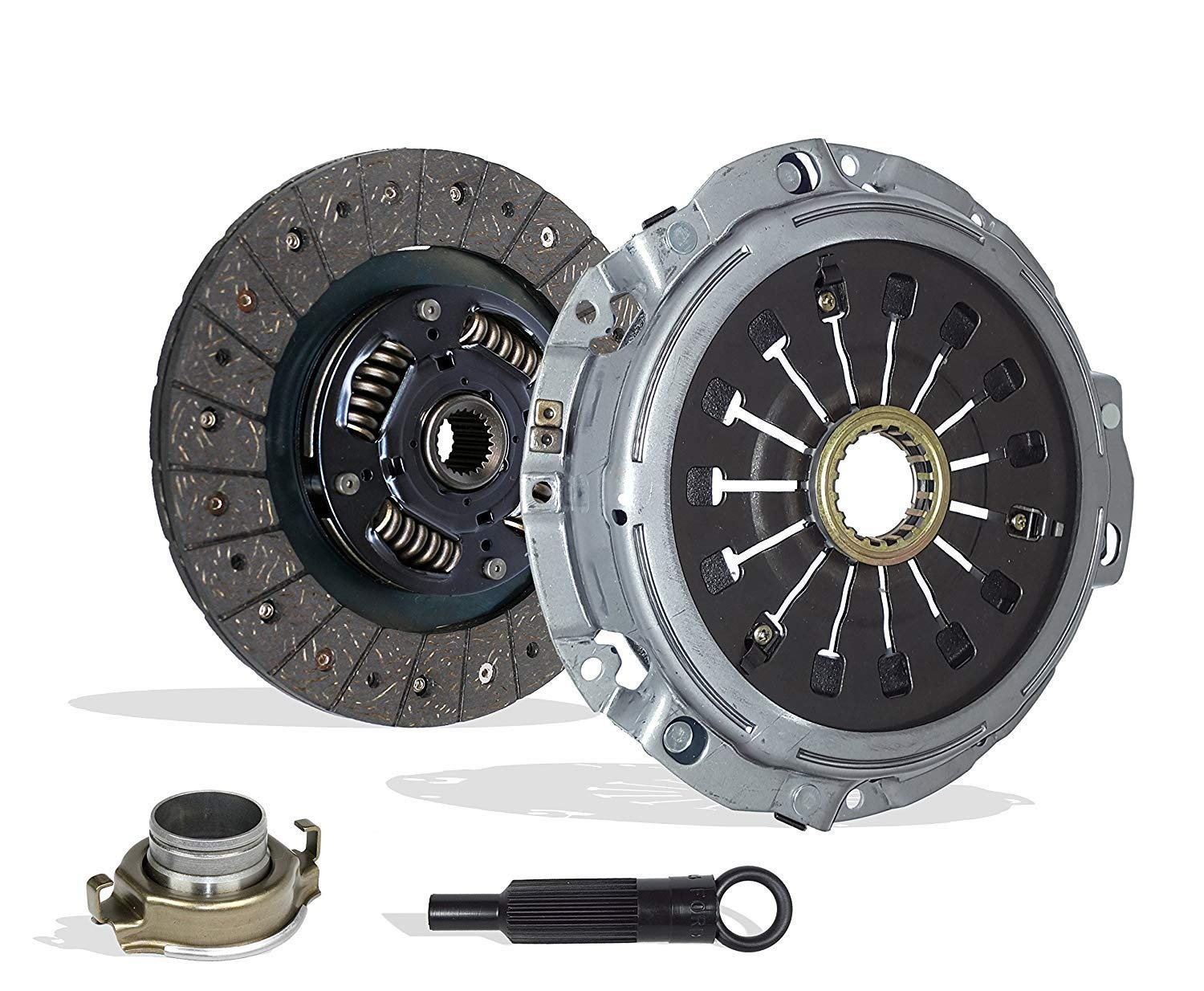 Clutch Kit works with Mitsubishi Eclipse Spyder Gt Gts Convertible Hatchback 2-Door 2000-2005 3.0L 2972CC 181Cu. In. V6 GAS SOHC Naturally Aspirated