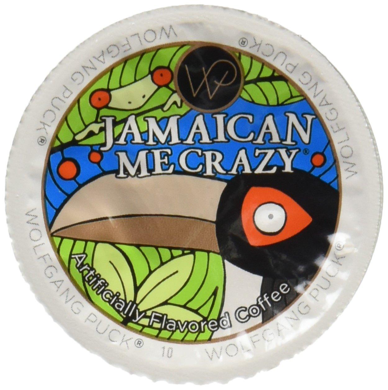 Wolfgang Puck Coffee, Jamaica Me Crazy, Keurig K-Cupsfor Keurig Brewers, 24-Count