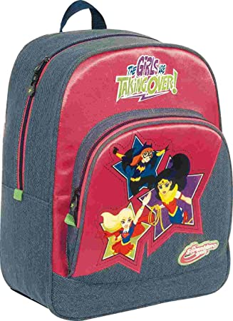 DC Super Hero Girls Stars Mochilas Infantiles, 40 cm: Amazon.es: Equipaje