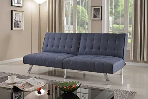 Home Life Linen with Split Back Adjustable Klik Klak Sofa Futon Bed