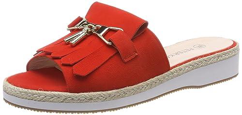 Womens Riara Open Toe Sandals, Black, 8 UK Peter Kaiser