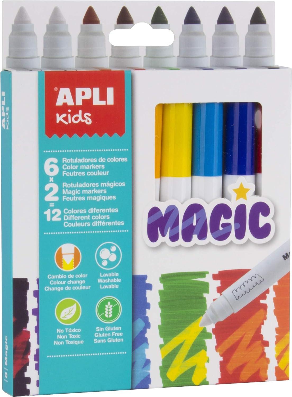 APLI Kids 16808 - Rotuladores Magic 8 u, Única