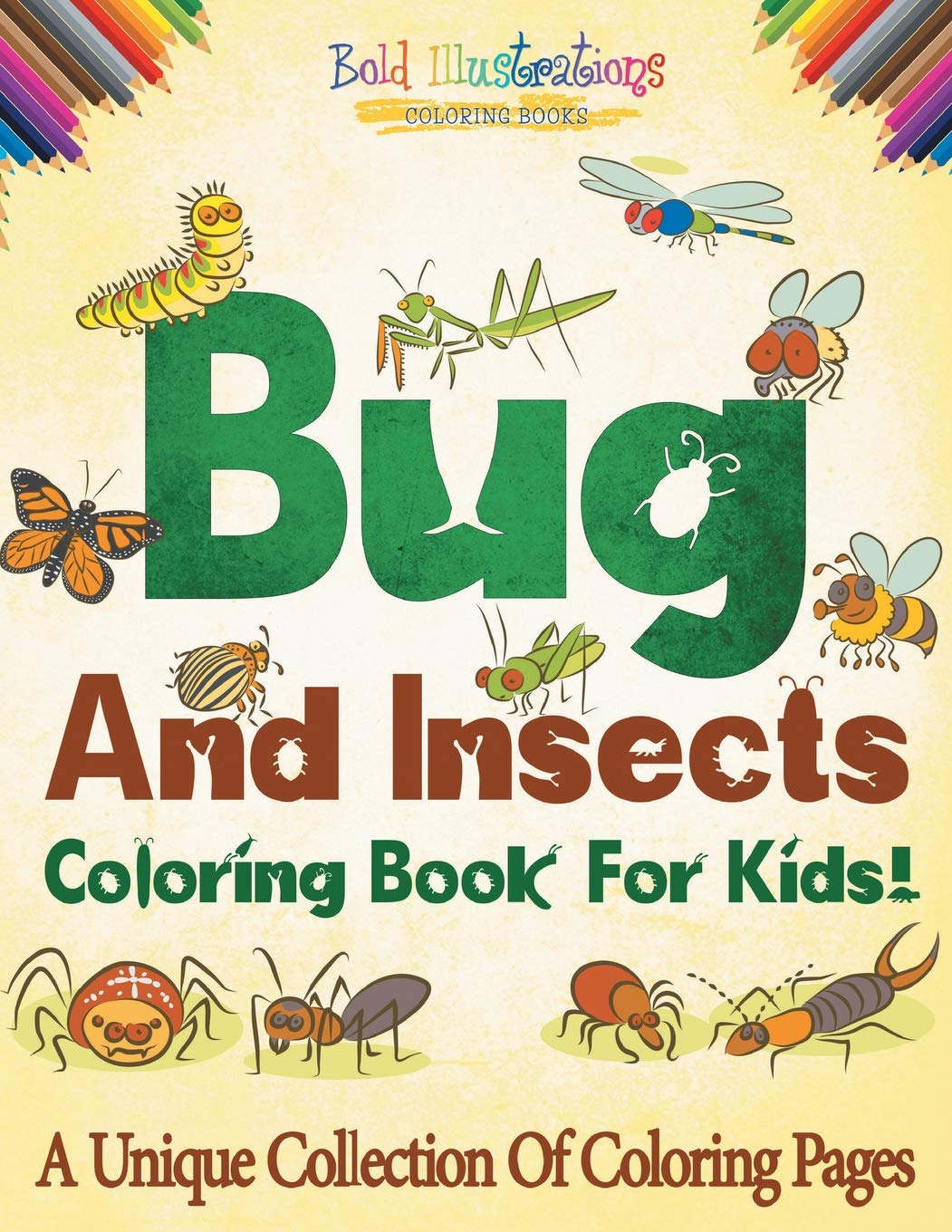 Insects Coloring Unique Collection Pages