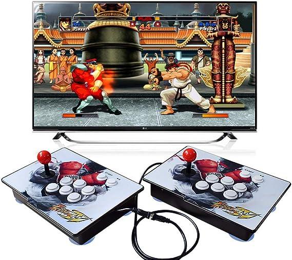 Amazon.es: King Bomb Tipo de separacion Pandoras Box 6S, 2200 en 1 Consola de Juegos, 1280 * 720 Doble Consola HD Arcade de Madera, personalización de Botones de Soporte y Juegos multijugador