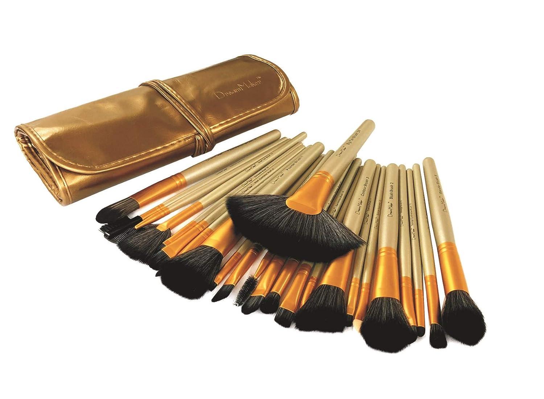Dream Maker® 24 Piece Makeup Brush Set (Beige)