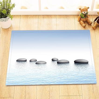 Amazon.com: LB Stones in Peaceful Water Spiritual World ...