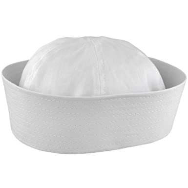 Amazon.com  Navy Gob Cap Gilligan Hat Sailor Costume Hat 10053  Clothing 00a91745b2f
