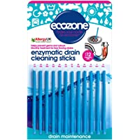 Ecozone Enzymatic Drain Sticks - Helps to Prevent Blockages Forming