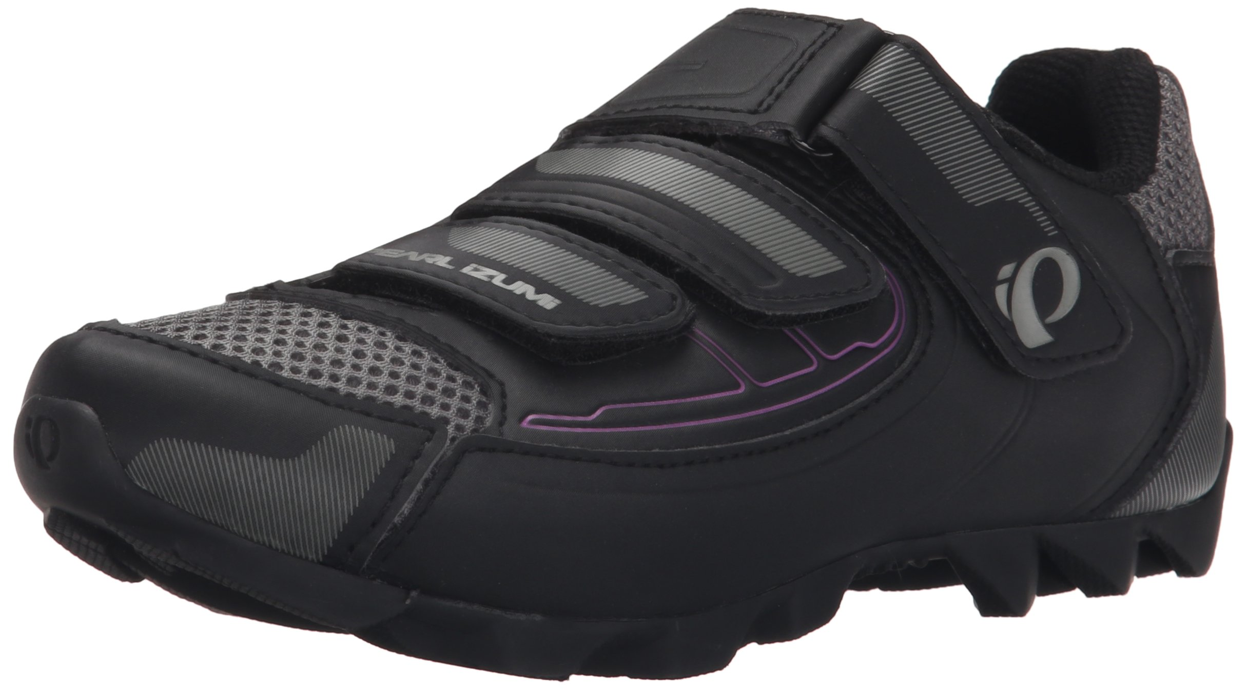 Pearl Izumi Women's W All-road Iii B/b Cycling Shoe, Black/Black, 43 EU/10.8 B US