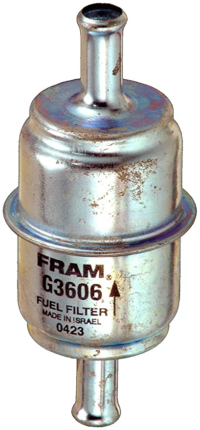 Amazon.com: FRAM G3606 In-Line Gasoline Filter: Automotive