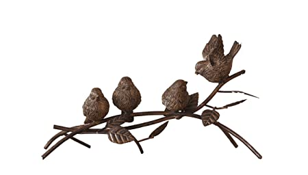 Your Heart s Delight Your 14 x 7.5 x 7.5 Birds Perched on a Branch Tabletop Figurines