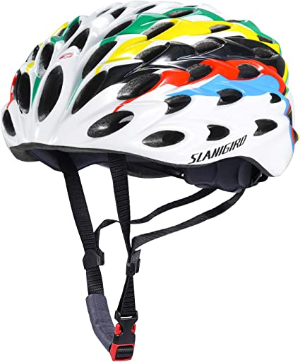 Adjustable Unisex Bike Helmet Sport Cycling Helmet with Insect Net /& 2 Goggles