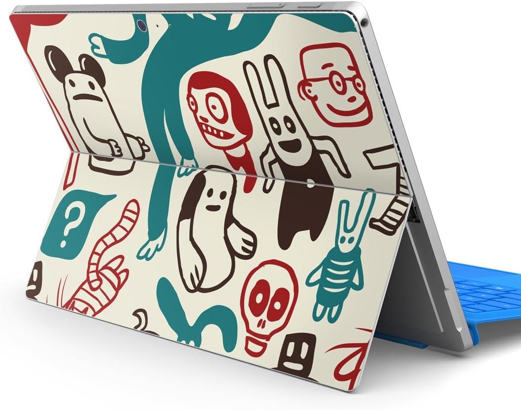 igsticker Ultrad/ünne Premium-Klebeschutzfolie Skins Universelle Tablet-Schutzfolie f/ür Microsoft Surface Pro 001544