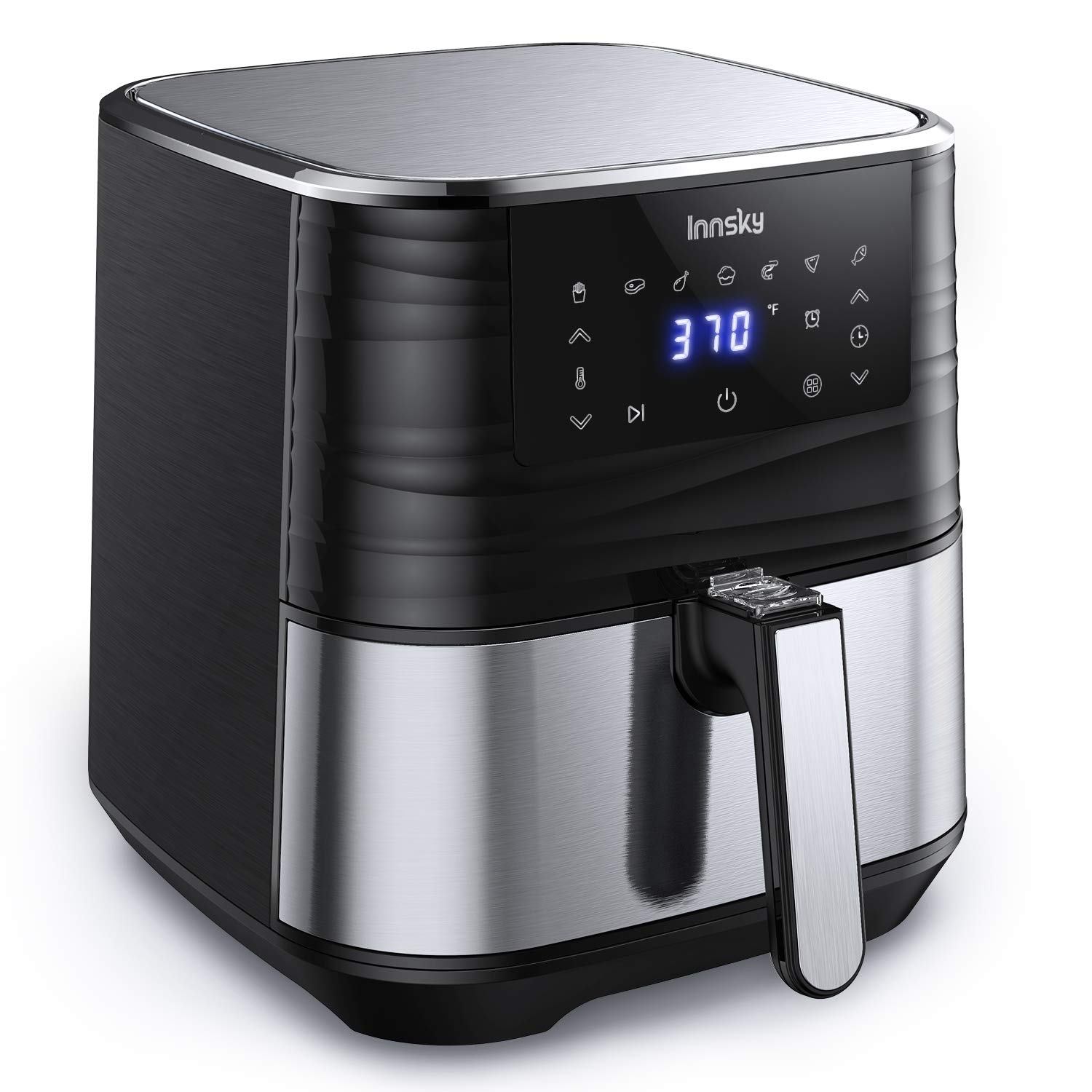 Innsky Air Fryer 58 Quart 1700Watt Electric Stainless Steel Air Fryers Oven for