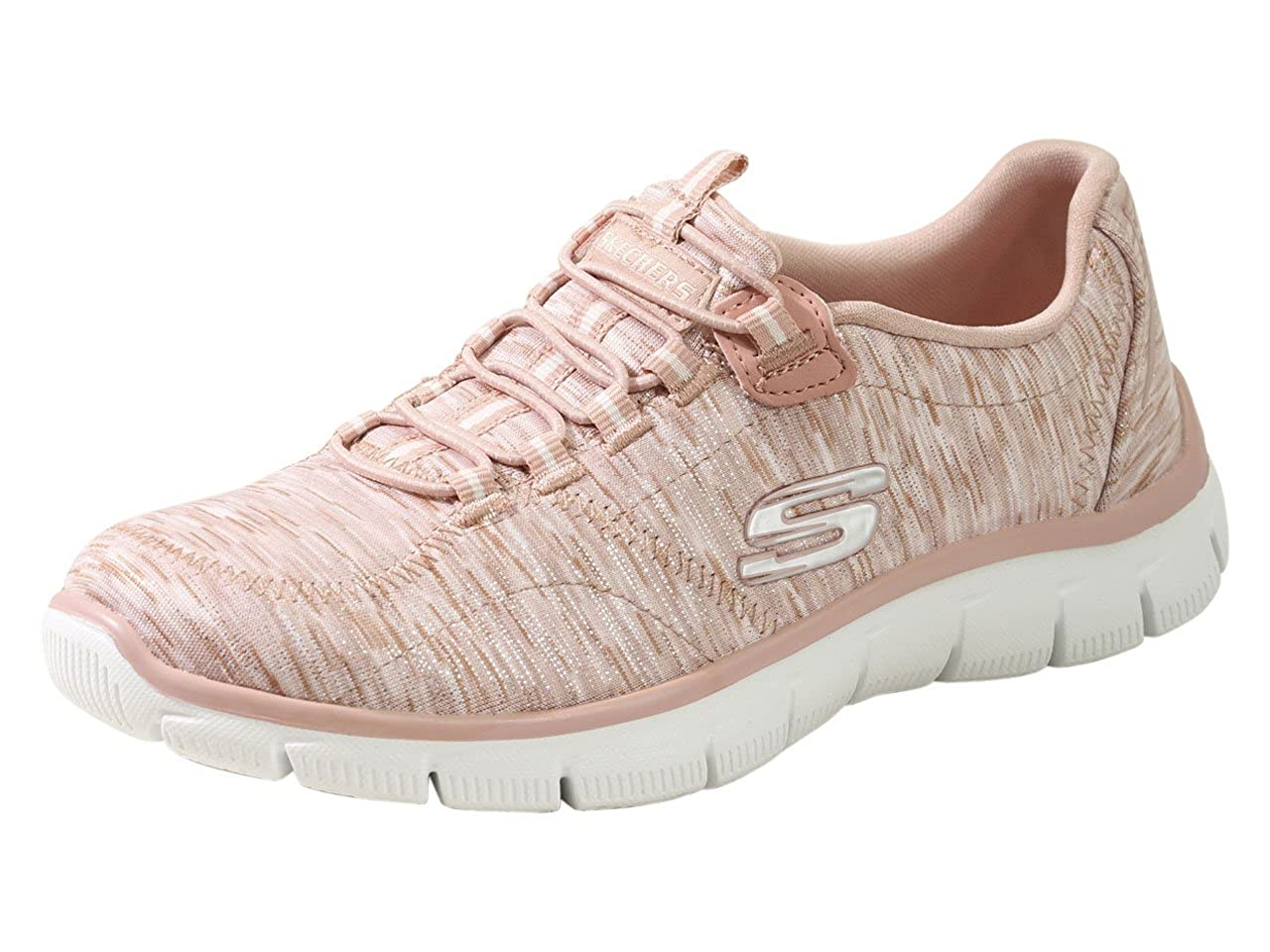 Rosa Skechers Damen Empire-take Ch Turnschuhe