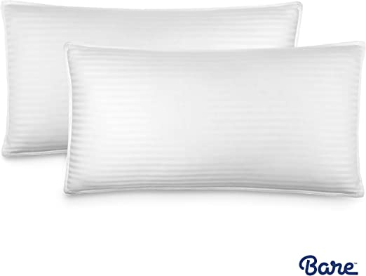 Down Alternative Hypoallergenic Bed Pillow Premium 2 Pack King Size