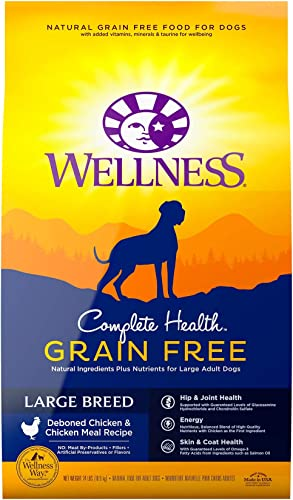 Wellness Complete Health Natural Grain Free Dry Dog Food Large Breed Chicken