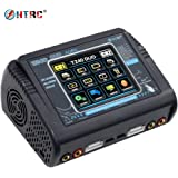 HTRC T240 DUO Color Touch Screen Dual Multi-Charger AC 150W /DC 240W 10A RC Balance Charger Discharger for LiPo LiHV LiFe Lilon NiCd NiMh Pb Battery