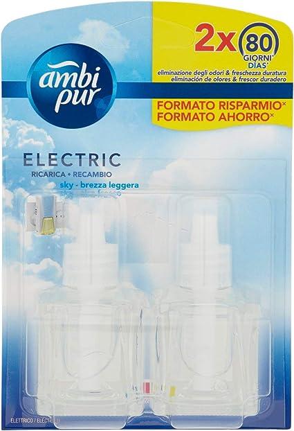 Ambi Pur Aire Fresco Recambio Para Ambientador Eléctrico - 2 x 21,5 ml: Amazon.es: Belleza