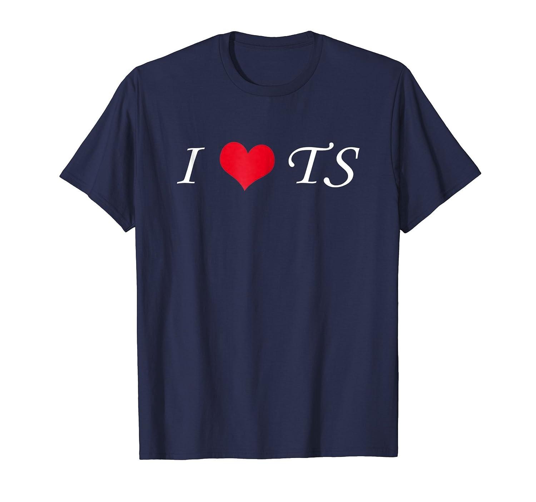 I heart TS cool t-shirt-fa