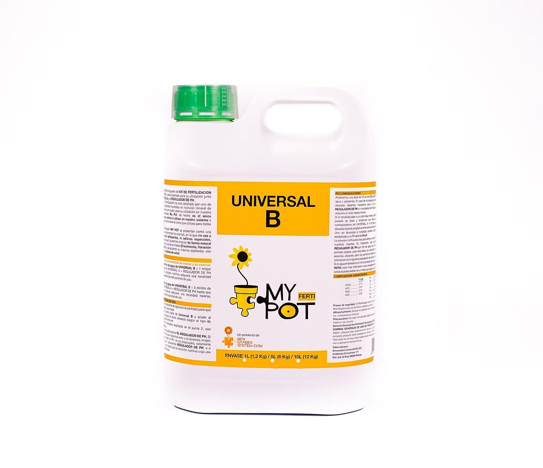Universal B 5 L - de MyPot. Equilibrio perfecto de vitaminas . Contiene todos los microelementos necesarios para tus plantas.