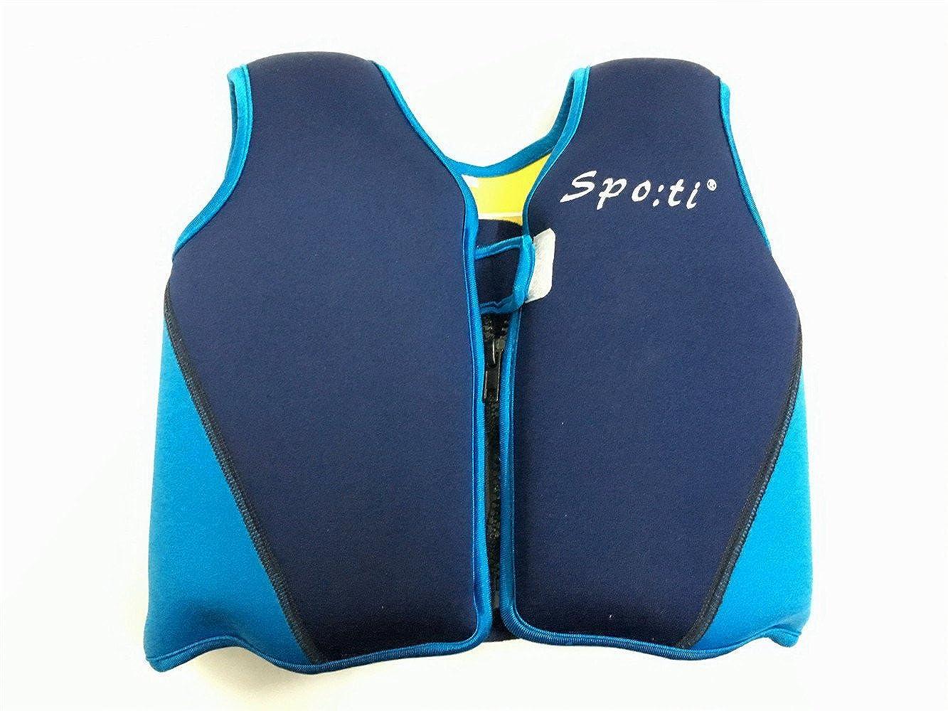 Titop Swim Vest para niños Infant Swim Trainer Chaleco para bebés Kids Float Vest Blue + Yellow Small para niños 0-3 años: Amazon.es: Ropa y accesorios